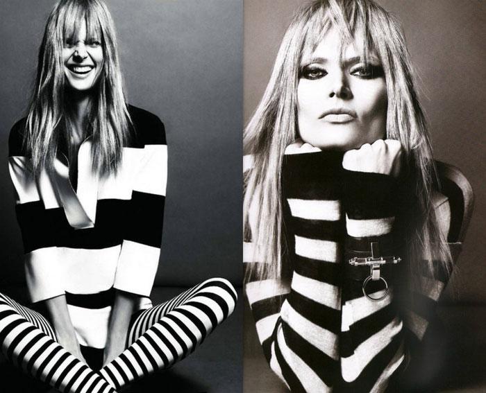 Black and white jail stripes trend S/S 2013 - It-Girl by Eleonora Petrella
