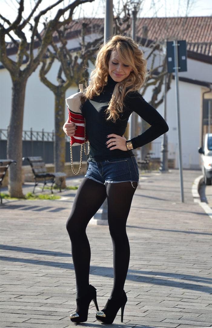 Eleonora Petrella Zara Shorts Bershka Heels Fun Is Not