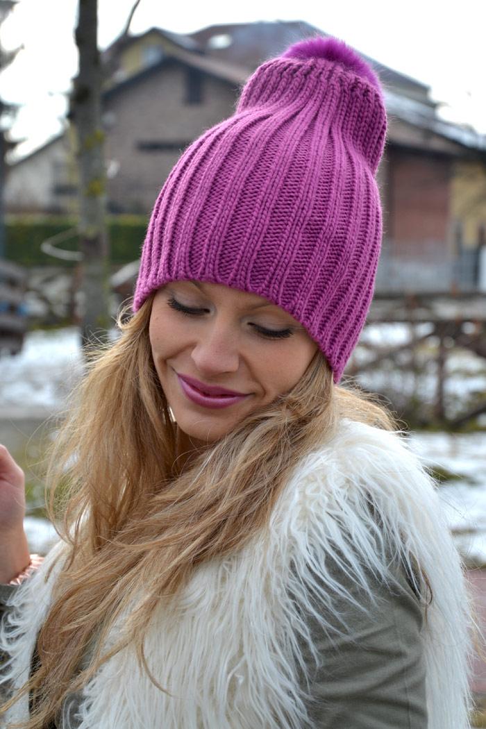 H&M faux fur, Zara sneakers alte and Oasap bag - It-Girl by Eleonora Petrella