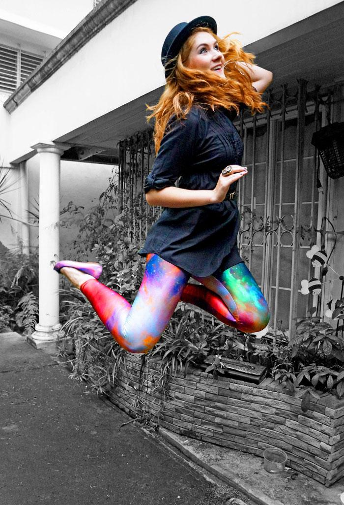 Romwe leggings trend - It-girl by Eleonora Petrella