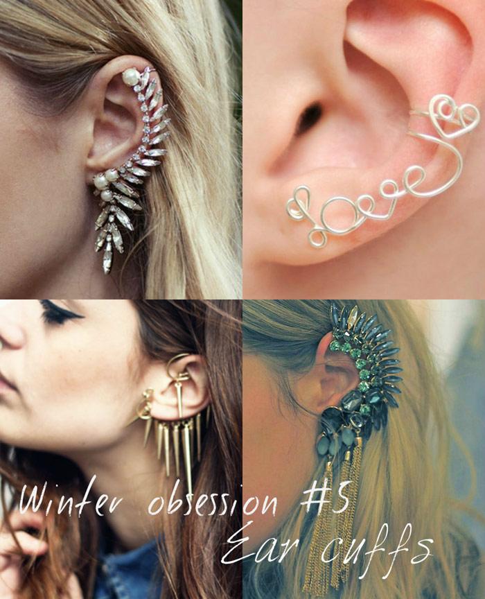 Fashion trend: Ear cuff jewelry earrings - It-Girl by Eleonora Petrella