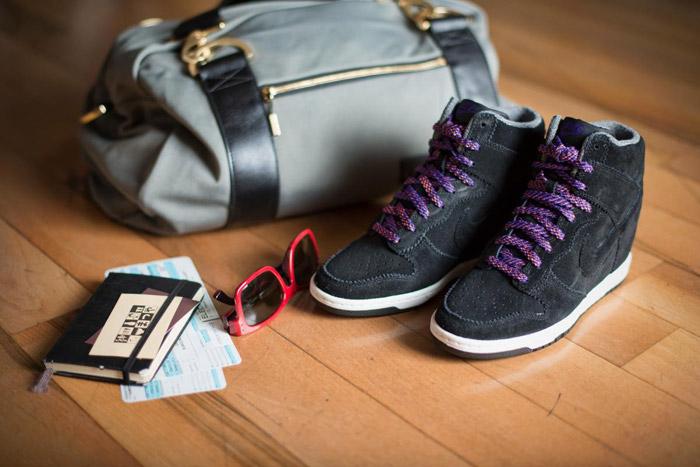 S/S 2013 trends: Nike Dunk Sky High - It-Girl by Eleonora Petrella