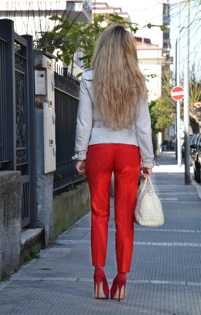Zara blazer and pants S/s 2013 - It-Girl italian fashion blog by Eleonora Petrella
