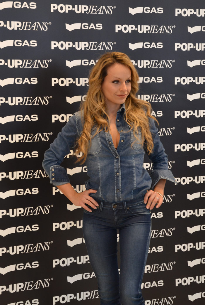 Gas Pop-Up jeans - It-Girl by Eleonora Petrella