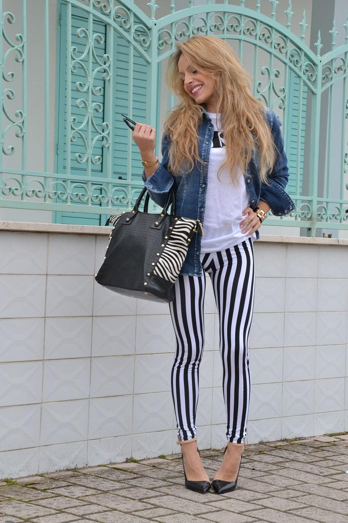 How to wear jail stripes - It-Girl by Eleonora Petrella