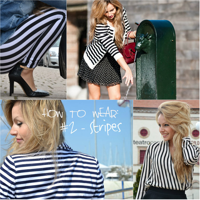 How to wear jail stripes - It-Girl by Eleonora Petrella