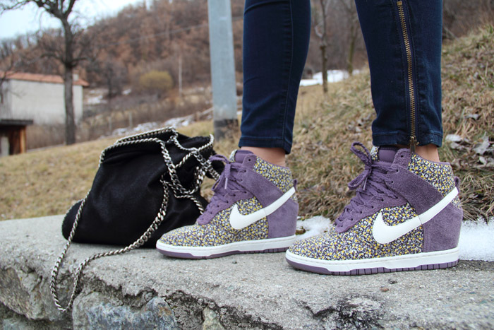 S/S 2013 trends: Nike Dunk Sky High - It-Girl by Eleonora Petrella