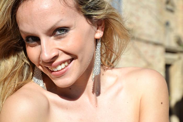 Asos gonna lunga con spacco e top peplum - outfit fashion blogger It-Girl by Eleonora Petrella