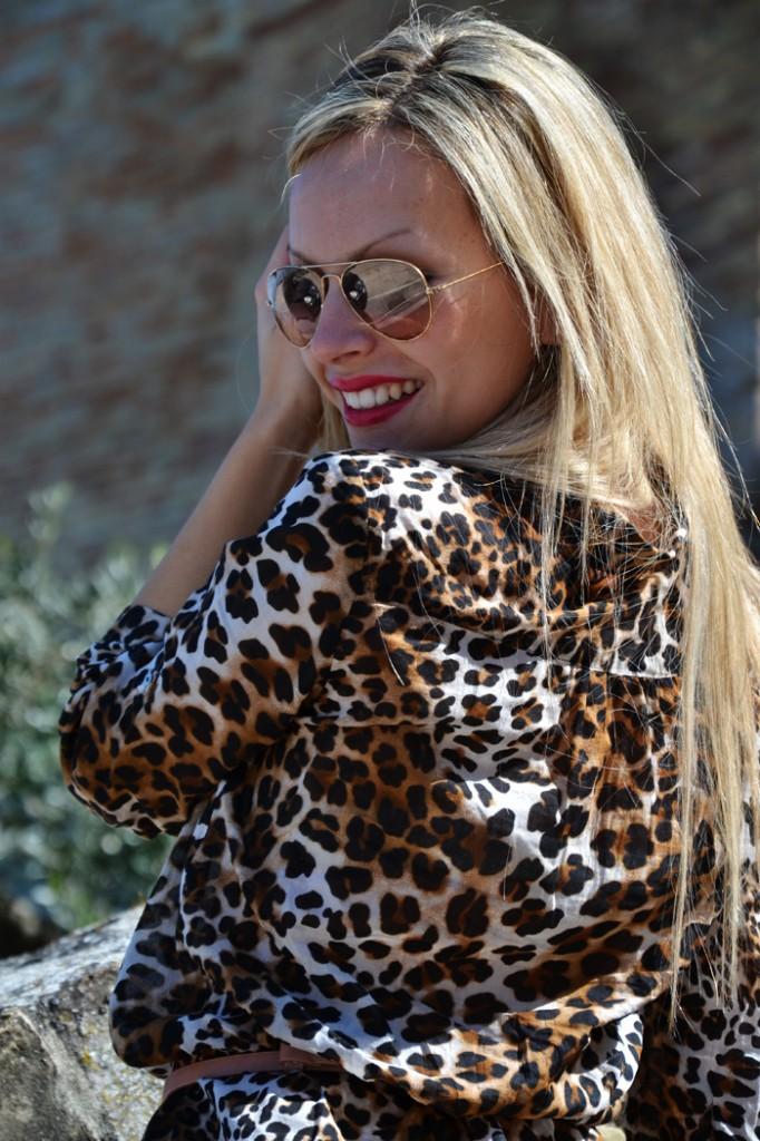 Like a leopard
