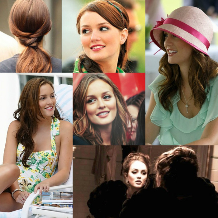 Serena e Blair Gossip Girl hairstyle - fashion blogger It-Girl by Eleonora Petrella