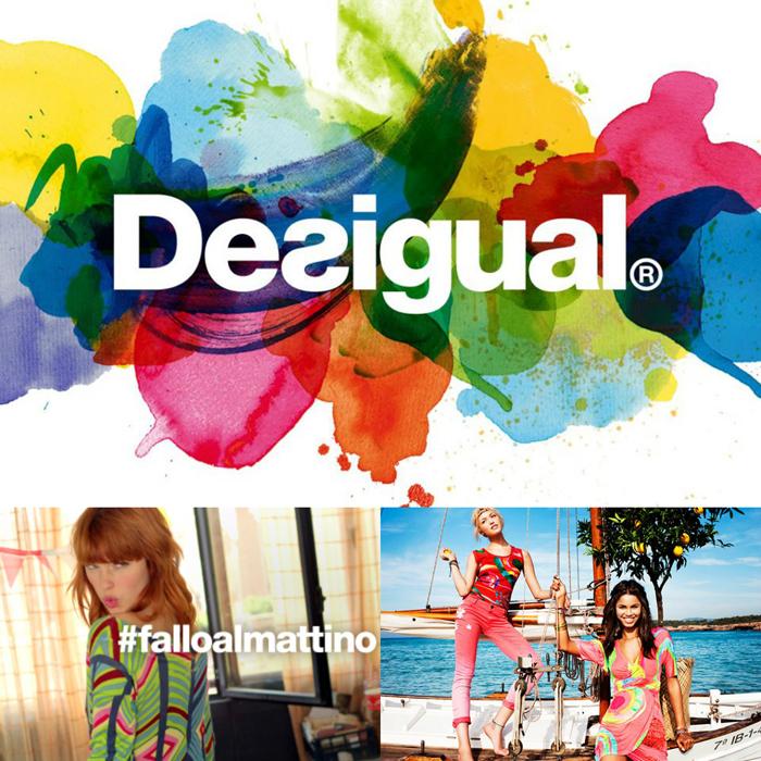 Desigual campaign spring/summer 2013 #falloalmattino