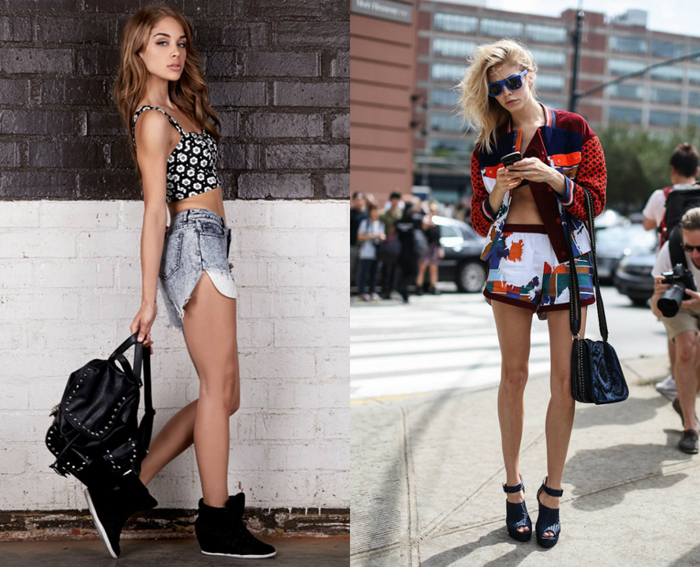 Top crop outfit trend spring summer 2013 - fashion blogger It-Girl by Eleonora Petrella