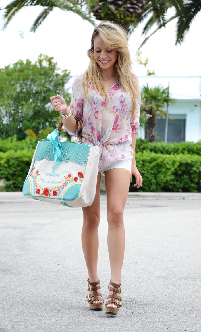 summer-outfit-pomikaki-brigitte-borsa-estate-2013 fashion blogger by eleonora petrella