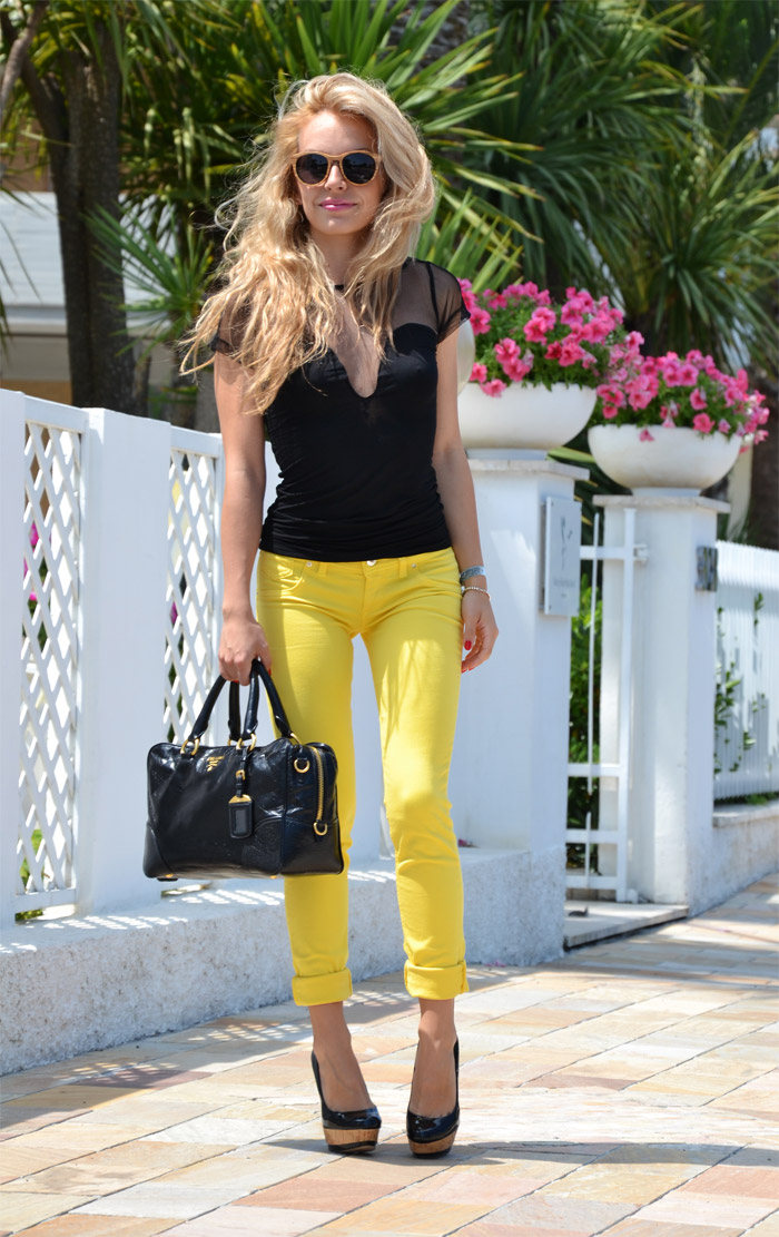 Palens sunglasses and Freesoul jeggings - fashion blog It-Girl by Eleonora Petrella