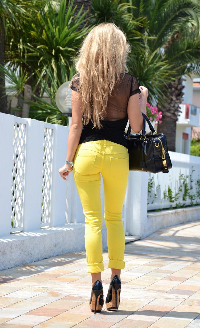 Palens sunglasses and Freesoul jeggings - fashion blog It-Girl by Eleonora Petrella