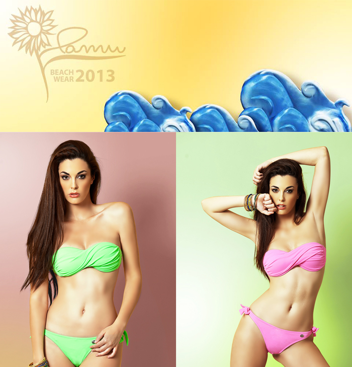 Pamu fluo beachwear 2013 - costumi estate 2013 fashion blogger It-Girl by Eleonora Petrella
