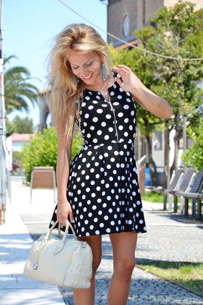 <!--:it-->Polka dots skater dress<!--:-->