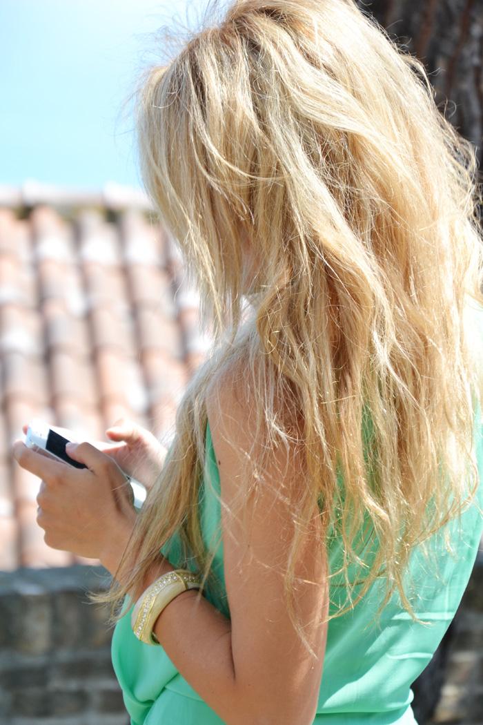 Asymmetrical dress, vestito lungo dietro corto davanti - outfit summer 2013 fashion blogger It-Girl by Eleonora Petrella