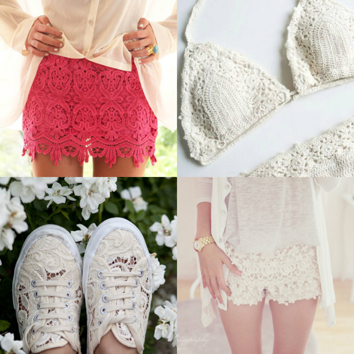 Crochet trend summer 2013 - fashion blogger It-Girl by Eleonora Petrella