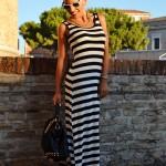 <!--:it-->Striped maxi dress<!--:-->