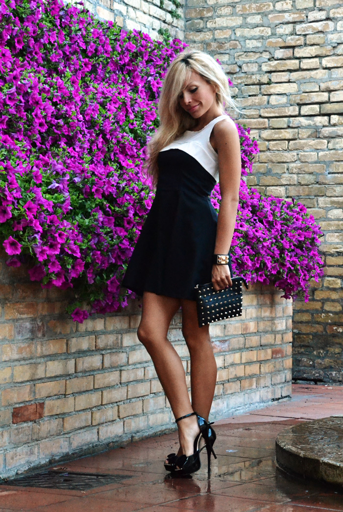 Persunmall skater dress Colonnella - outfit summer estate 2013 italian fashion blogger It-Girl by Eleonora Petrella