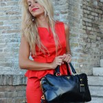 <!--:it-->Red peplum dress<!--:-->