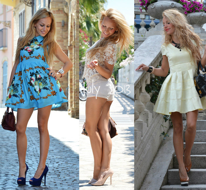 Best Outfit summer (look estivi) 2013 fashion blogger - It-Girl by Eleonora Petrella