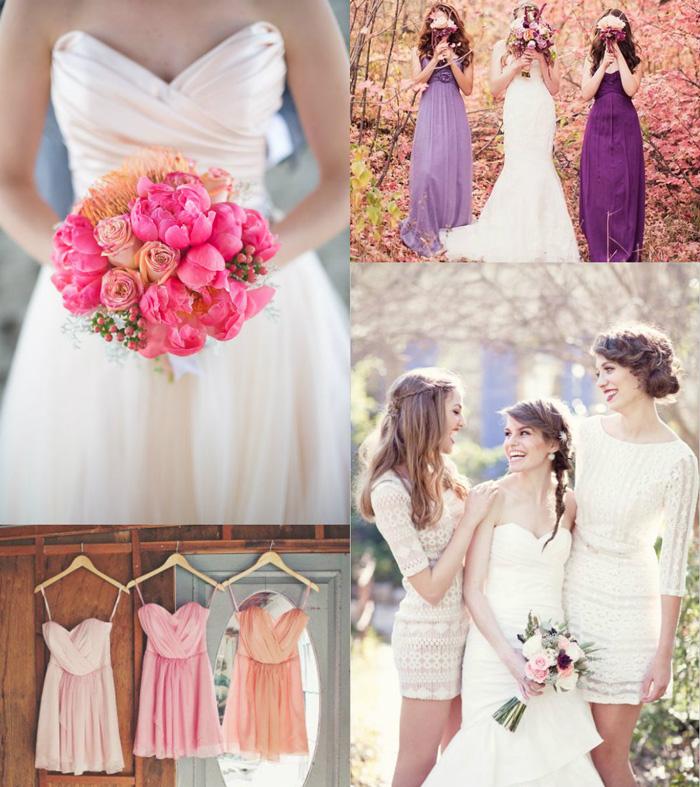 What to wear to a wedding - bridesmaid wedding dresses - come vestirsi ad un matrimonio