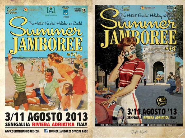 Summer Jamboree Senigallia look rockabilly estate 2013 - outfit fashion blogger It-Girl by Eleonora Petrella