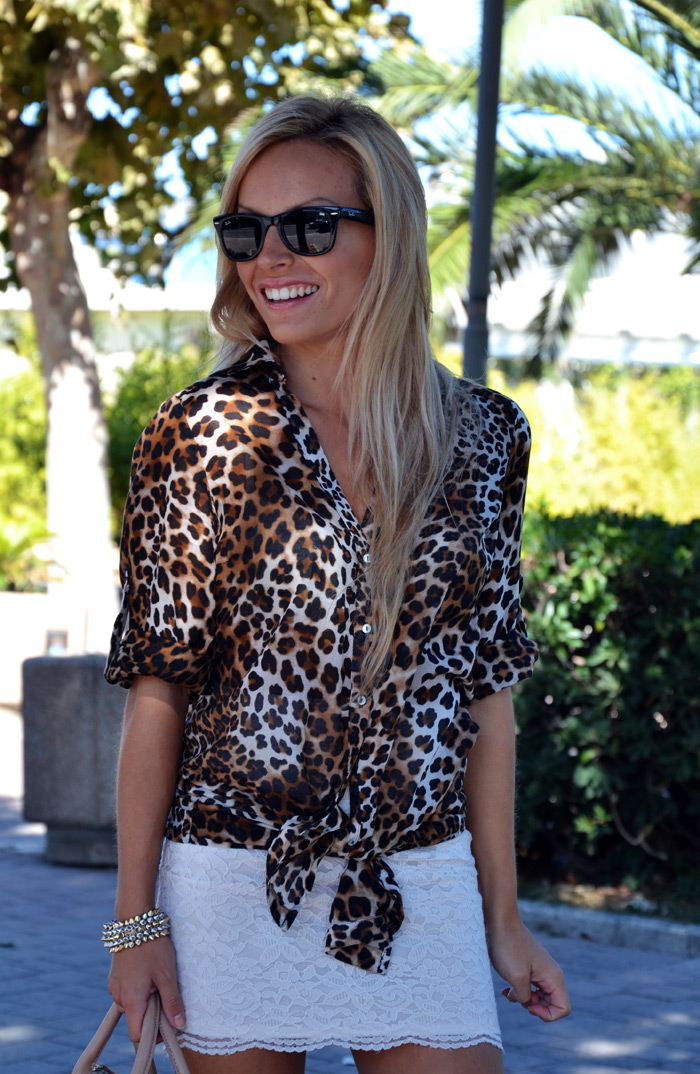 Mix and match outfit look fashion blogger, animalier+stripes – It-Girl by Eleonora Petrella