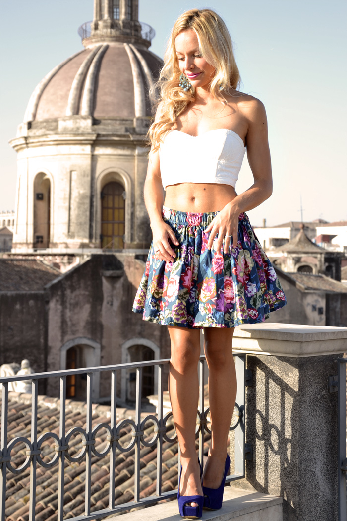 outfit Catania holiday Sicily fashion blogger It-Girl by Eleonora Petrella