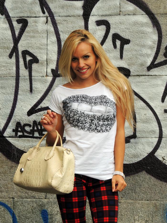 Zara check print tartan trend fall winter 2013 - outfit ideas italian fashion blogger It-Girl by Eleonora Petrella