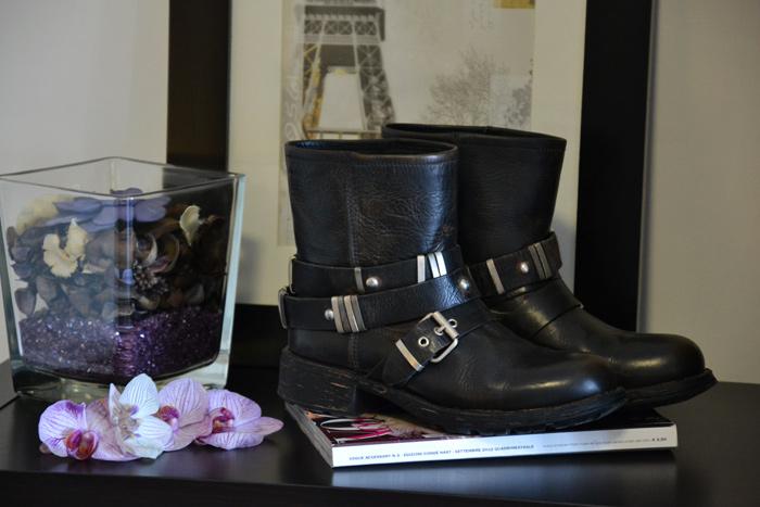 Cult shoes biker boots autunno inverno 2013 - italian fashion blogger It-Girl by Eleonora Petrella