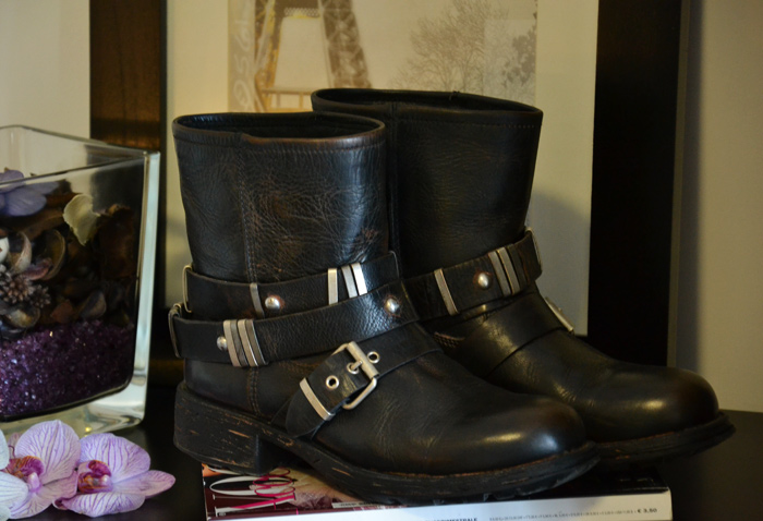 Cult shoes biker boots autunno inverno 2013 - italian fashion blogger It-Girl by Eleonora Petrella