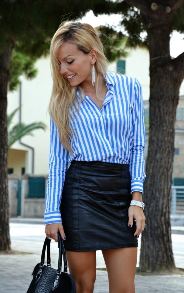<!--:it-->Black leather skirt<!--:-->