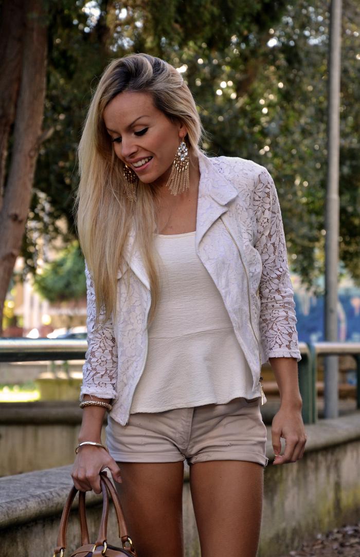 Over the knee boots outfit trend fall winter 2013 - chicwish lace jacket - stivali sopra il ginocchio bassi - italian fashion blogger It-Girl by Eleonora Petrella