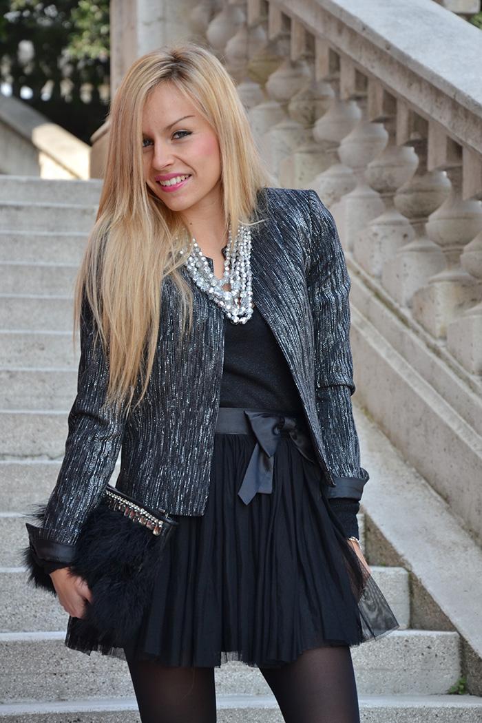 Elegant and chic outfit fall 2014 , tutu tulle skirt, gonna da ballerina - italian fashion blogger It-Girl by Eleonora Petrella
