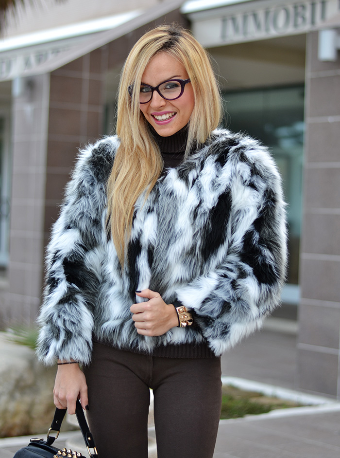 Choies faux fur coat, Hype Glass occhiali, Zalando Steve Madden Leena heels [...]</p> </div>  <div class=