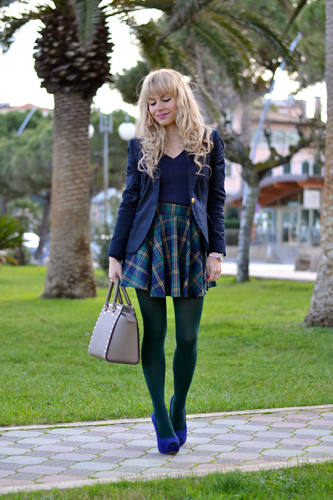 <!--:it-->Plaid check tartan skirt<!--:-->