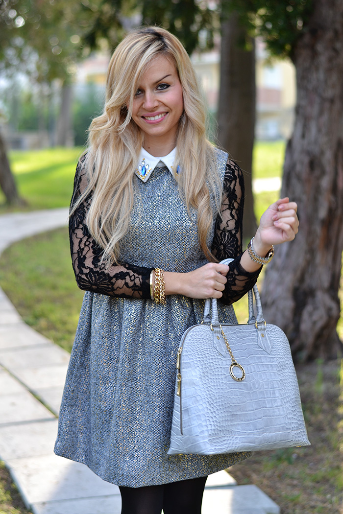 Vestiti Sheinside elegant dress, Buffalo heels Zalando, Arcadia bags bolsas – Italian fashion blogger It-Girl by Eleonora Petrella