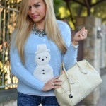 <!--:it-->Snowman furry sweater<!--:-->