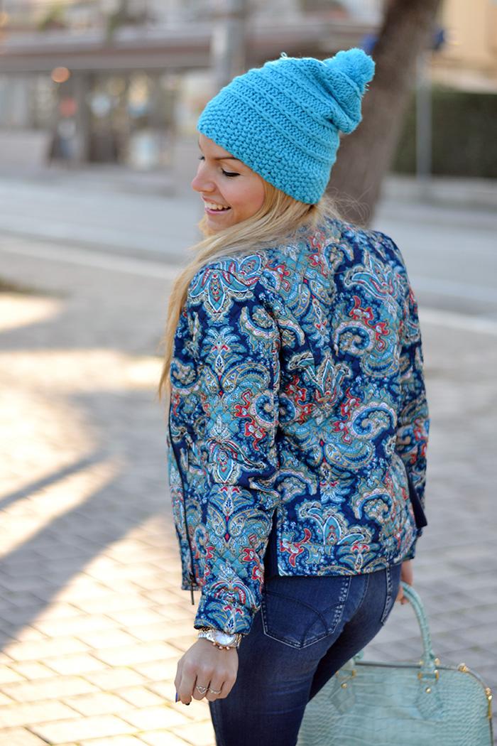 Stradivarius jacket, Gas Pop-up jeans, Menbur shoes tacones, Arcadia bags bolsas - outfit italian fashion blogger It-Girl by Eleonora Petrella