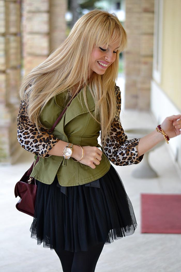 LOL Jewels bracciali Jungle Collection fashion blogger outfit – Coccinelle borse – tutu black skirt – It-Girl by Eleonora Petrella