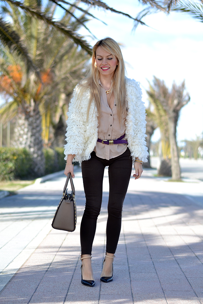 Marc by Marc Jacobs bangle bracelet and earrings, Michael Kors Lexington watch and Selma bag – Romwe sweater – outfit italian fashion blogger It-Girl by Eleonora Petrella