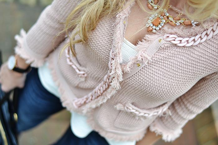 Benetton jeans zampa d'elefante, Giorgia&Johns primavera estate 2014, giacche rosa, outfit spring 2014 italian fashion blogger It-Girl by Eleonora Petrella