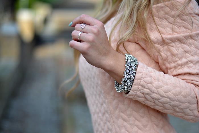 Chicwish pink dress, Ottaviani bijoux gioielli, See by Chloè bag, outfit spring 2014 italian fashion blogger It-Girl by Eleonora Petrella