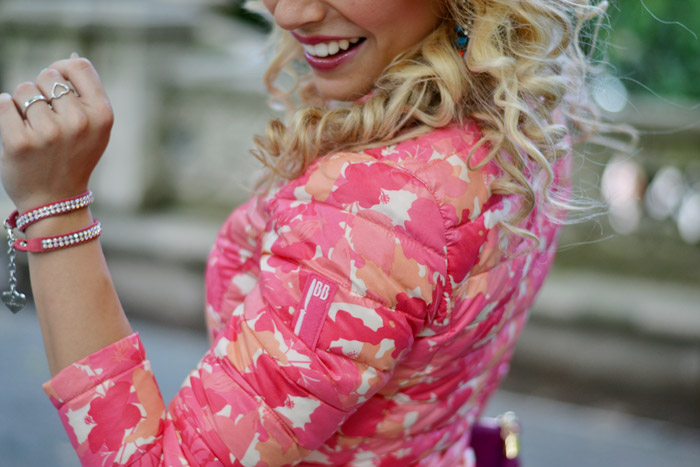 Piumino 100 grammi Bomboogie - outfit primaverile - pantaloni gialli FreeSoul - It-Girl by Eleonora Petrella