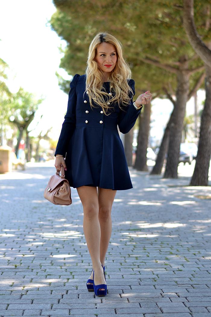 Didofà watch orologi, Gossip girl coat Sheinside, See by Chloè bags, outfit Blair Waldorf, italian fashion blogger It-Girl by Eleonora Petrella