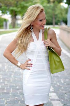borse Venetus, borse estate 2014, vestiti bianchi estivi, white dress, summer outfit Italian fashion blogger It-Girl by Eleonora Petrella outfit