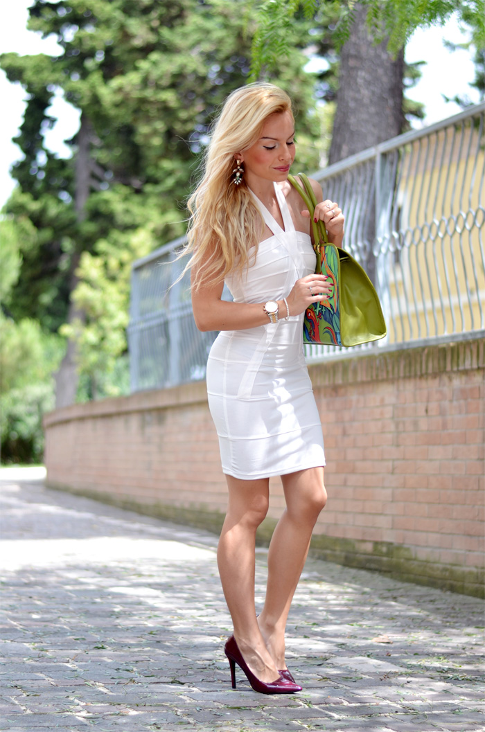 borse Venetus, borse estate 2014, vestiti bianchi estivi, white dress, summer outfit Italian fashion blogger It-Girl by Eleonora Petrella outfit